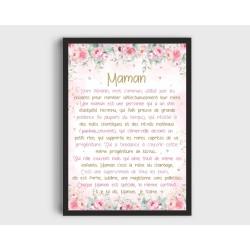 Affiche Maman A4