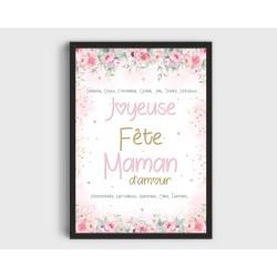 Affiche Maman A5