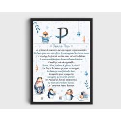 Affiche Papi A4