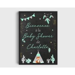 Affiche Baby Shower
