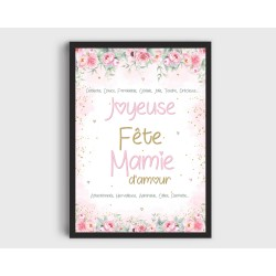 Affiche Mamie A4