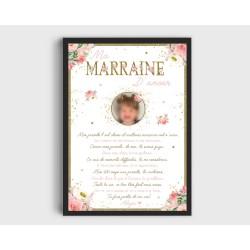 Affiche Marraine