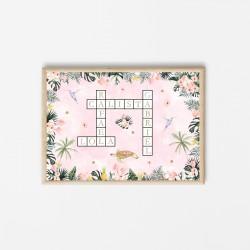 Affiche Scrabble